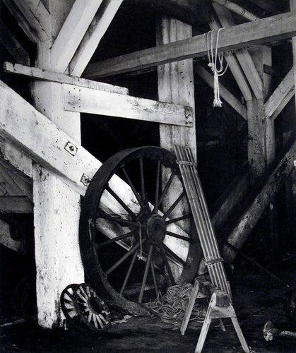 Lumber Mill Interior at Albion, California