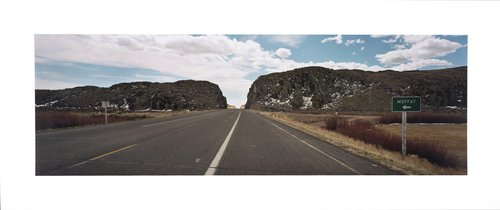Road cuts, south of Saguache, int. of county roads 47 & 16, Sagauche Co., Colorado, 1995