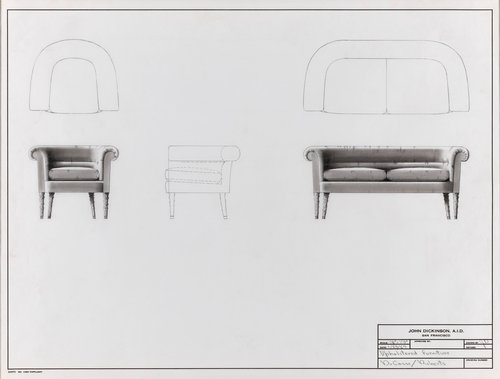 Upholstered furniture for Du Casse and Roberts