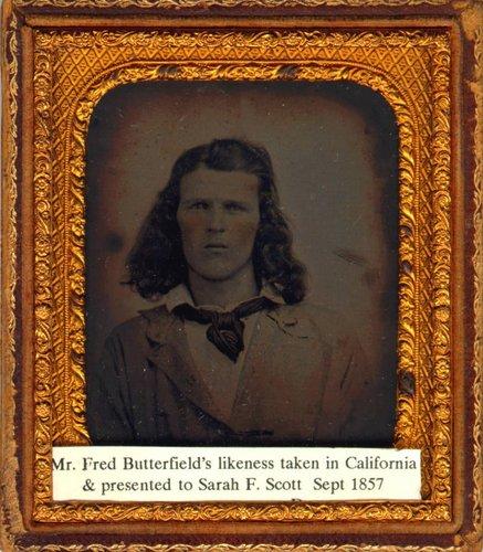 Untitled [Portrait of Mr. Butterfield]