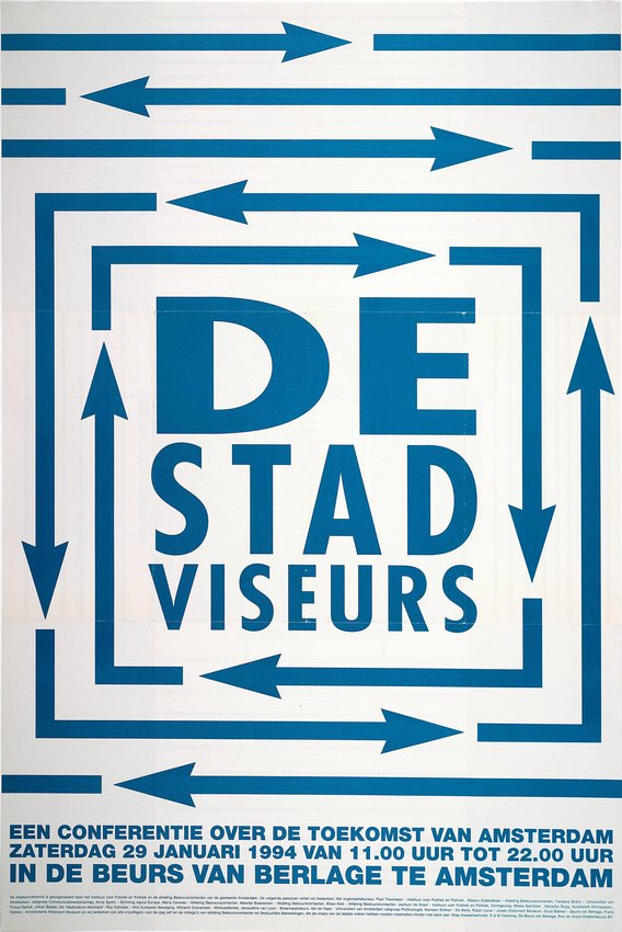image of 'De Stad Viseurs (The City Viewfinders) poster'