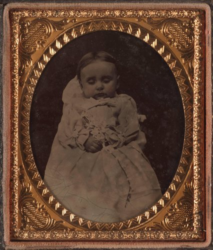 Untitled [Postmortem memorial photograph of a child]