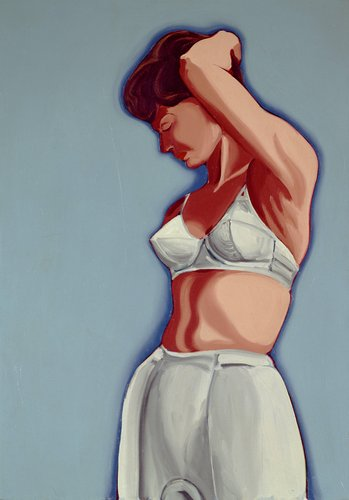 Woman in Girdle