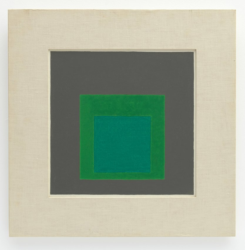 image of 'Study for Homage to the Square: Shaded Green'