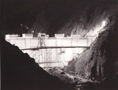 Monticello Dam, from the series Death of a Valley