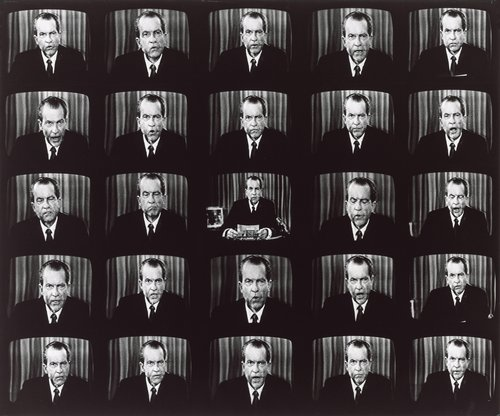 Nixon Speaking, Buffalo, New York, from the series Television Political Mosaics