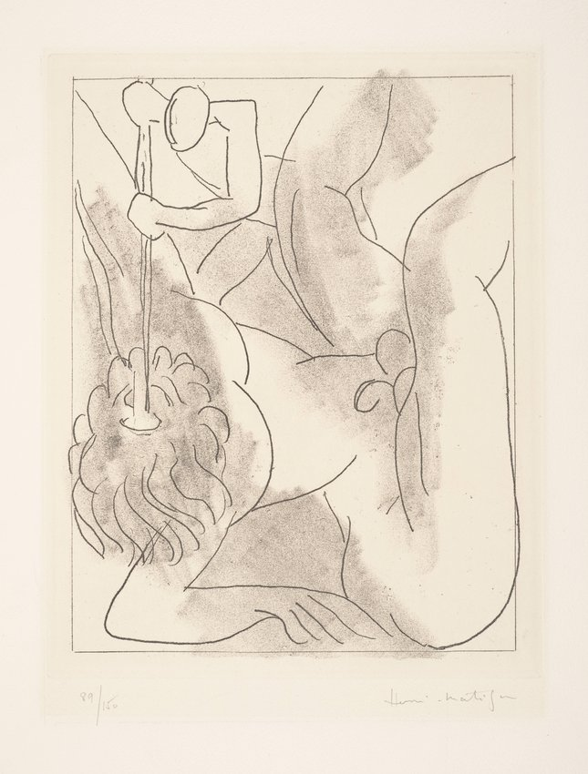 image of 'Polyphème, one of six etchings for Ulysses by James Joyce'
