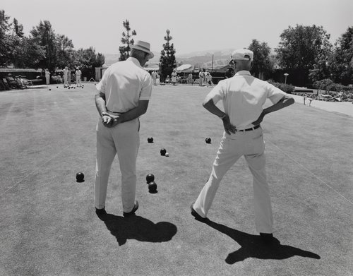 Lawn bowling is for old men, from the portfolio Leisure