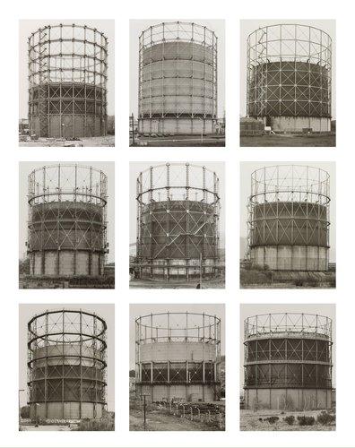 Gasbehälter (Teleskop), Deutschland, Belgien, Vereinigte Staaten, Großbritannien (Gas Holders [Telescoping], Germany, Belgium, United States, United Kingdom)
