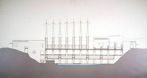 Sutro Baths: A New Public Room, Section