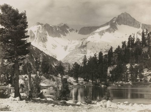 Mount Brewer, from the portfolio Parmelian Prints of the High Sierras