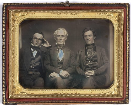Untitled [Three judges of the Supreme Court of Iowa, Judges Greene, Pyer, and Williams]