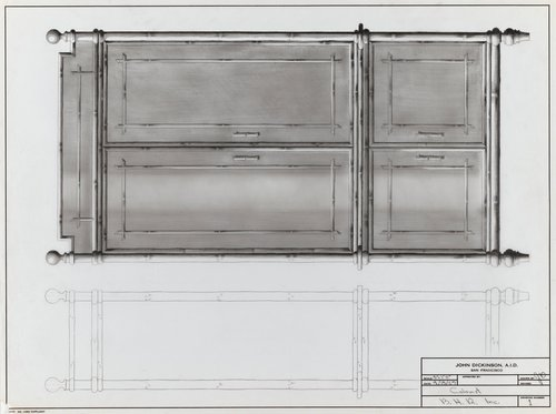 Cabinet for B.H.R., Inc.