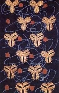 Flowering Lotus Rug