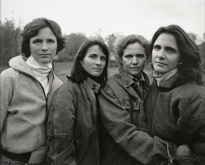 Image for artwork The Brown Sisters, Woodstock, Massachusetts