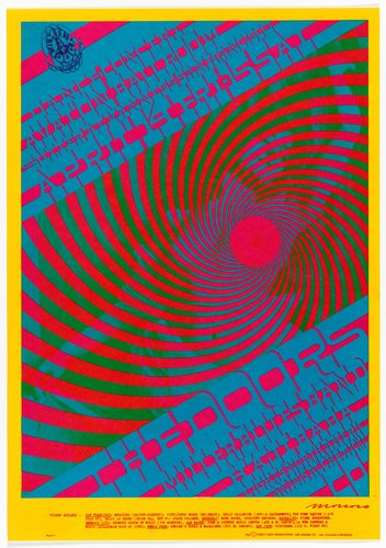 The Doors, Miller Blues Band; Avalon Ballroom, April 14-15, 1967