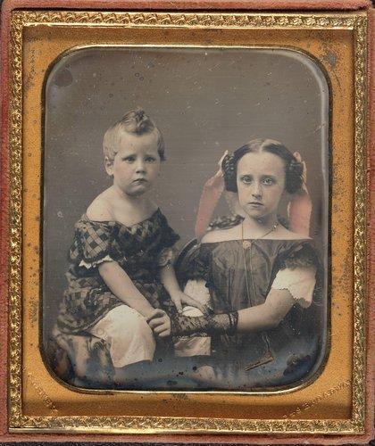 Ann Eliza [aka Mrs. Charles Eldridge] and Walter Barnes