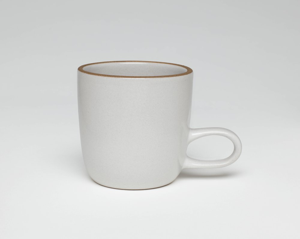 image of 'Opaque White studio mug from the Coupe line'