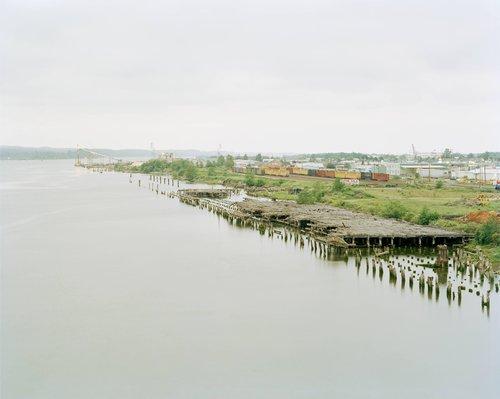 Gray's Harbor, Aberdeen, Washington, from the series Sawdust Mountain