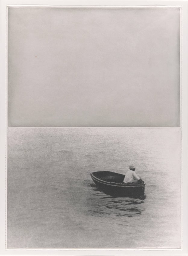 image of 'Boat (with Figure Standing), from the portfolio Hegel's Cellar'