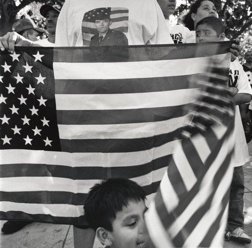 Immigration Demonstration, May 1, 2006, Fresno, California
