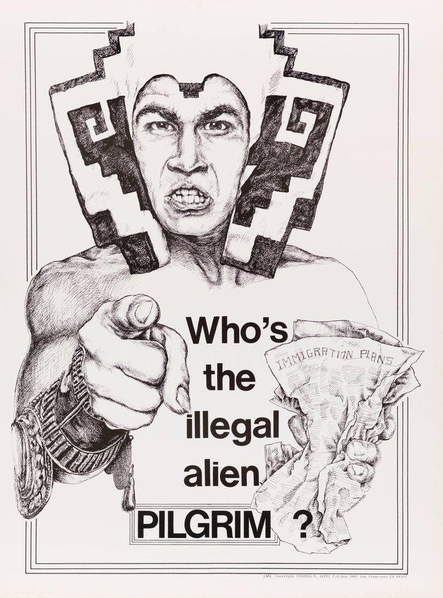 image of Who's the Illegal Alien, Pilgrim? poster