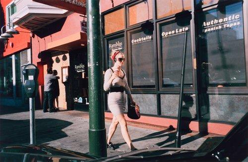 San Francisco, California, Valencia Street, from the portfolio Analog Days