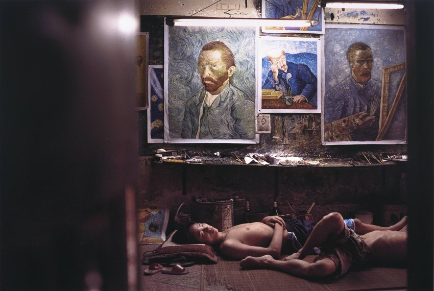 image of 'Untitled No. 6, from the series Dafen Oil Painting Village in China'