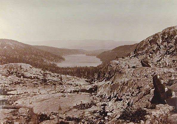 image of 'Donner Lake from the Summit'
