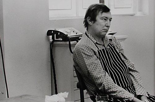 Untitled (Jasper Johns Working at Gemini)