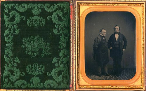 Untitled [Two prominent gentleman]