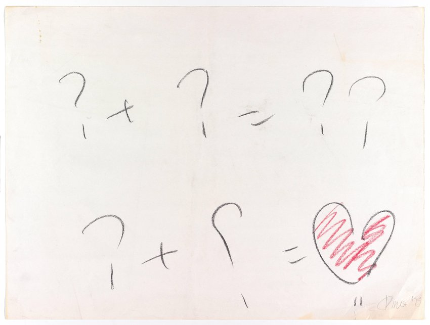 image of Untitled (Equation Question-Heart)