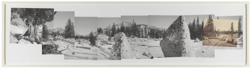 Above Lake Tenaya, Connecting Views from Edward Weston and Eadweard Muybridge, from the Yosemite Project