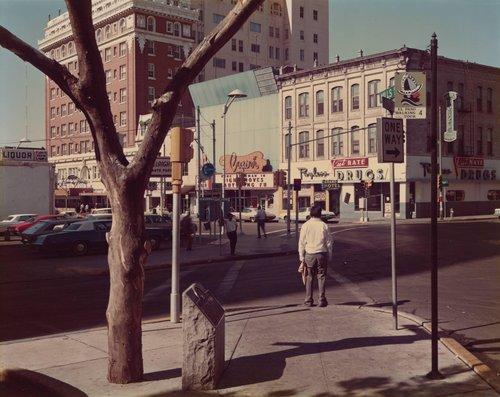 El Paso Street, El Paso, Texas, July 5, 1975