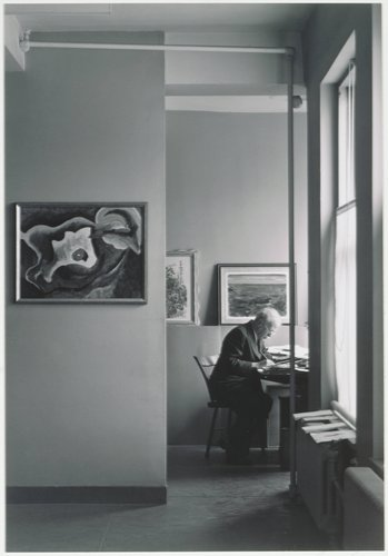 Alfred Stieglitz, An American Place, New York, from Portfolio One: Twelve Photographic Prints