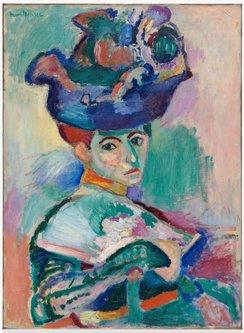 Image for artwork Femme au chapeau (Woman with a Hat)
