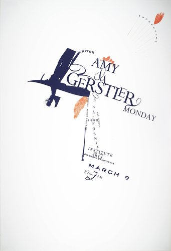 Amy Gerstler Lecture poster