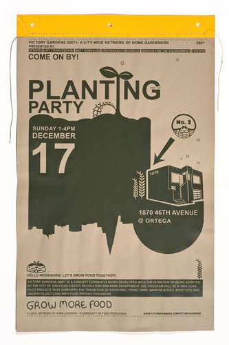 VG2007+ Planting Party Poster, December 17