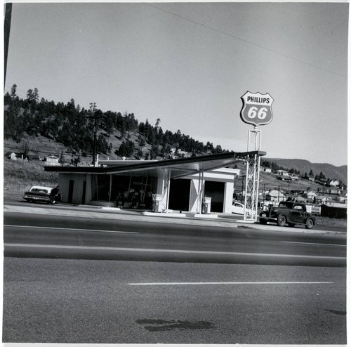 Phillips 66, Flagstaff, AZ, from the series Twentysix Gasoline Stations