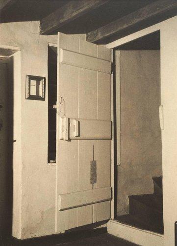 Doylestown House - Stairway, Open Door
