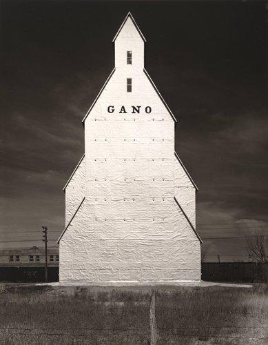 Gano Grain Elevator, Western Kansas