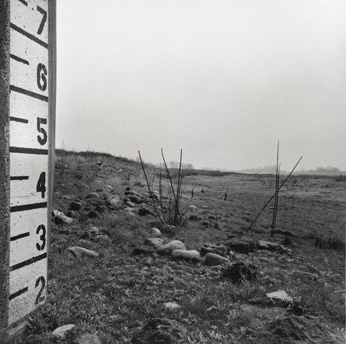 Drought, Empty Reservoir, Winter 2009, Chowchilla, California