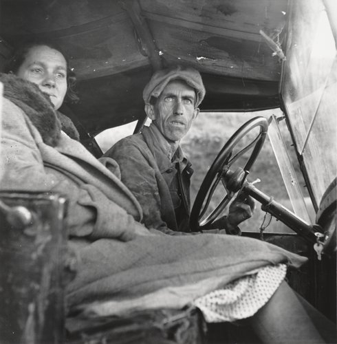 Ditched, Stalled and Stranded, San Joaquin Valley, California, 1935