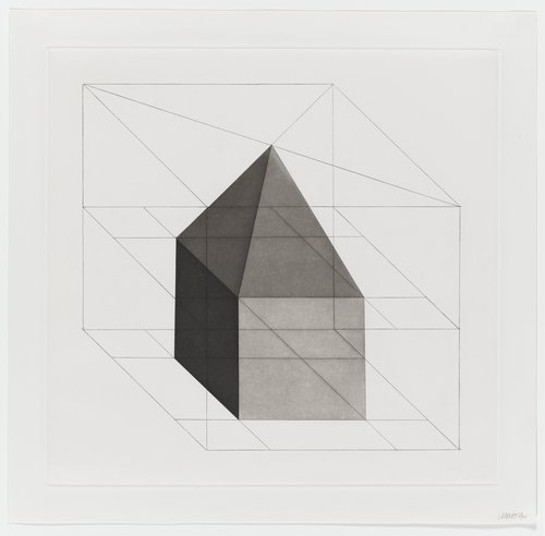 Forms Derived from a Cube, Plate #16