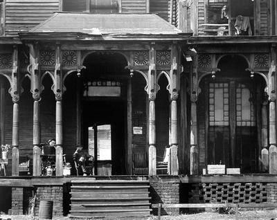 image of 'Boarding House Porch, Birmingham, Alabama'