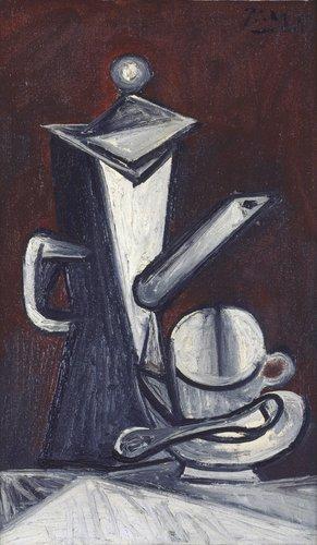 "Nature morte ""la cafetière"" (Still Life ""The Coffee Pot"")"