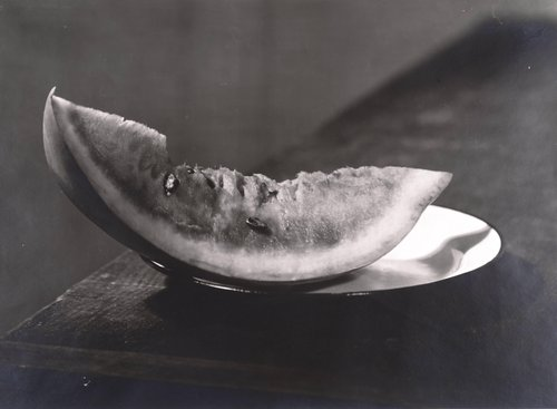 Untitled [Slice of watermelon]