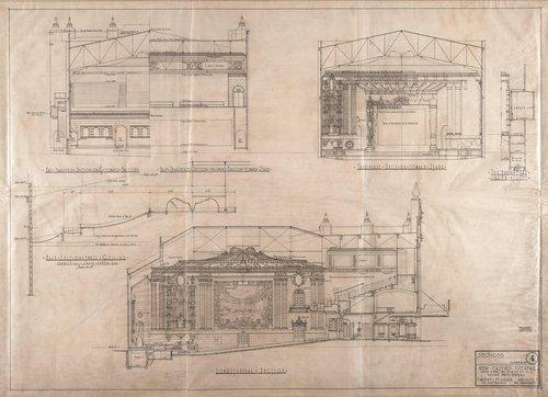 New Castro Theatre, San Francisco, California (Sections)