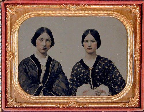 Untitled [Portrait of Two Women]
