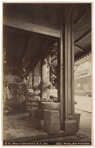 Shop in Chinatown, San Francisco, California
